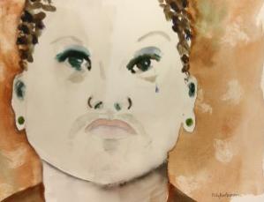 """Polly Barbacovi""""Nature: Nurture"""" - Watercolor"""
