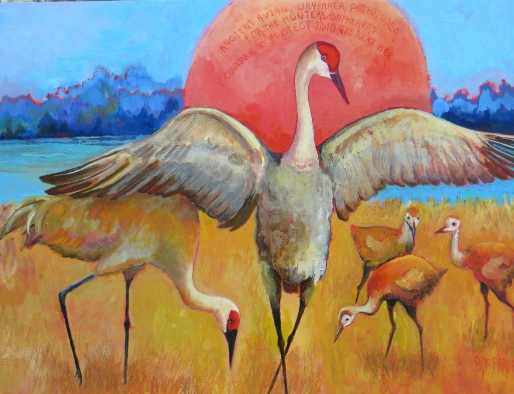 Preservation-series-Sandhill-Cranes